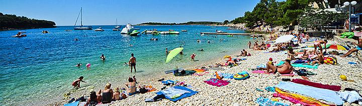 Pláž Banjole, Istrie