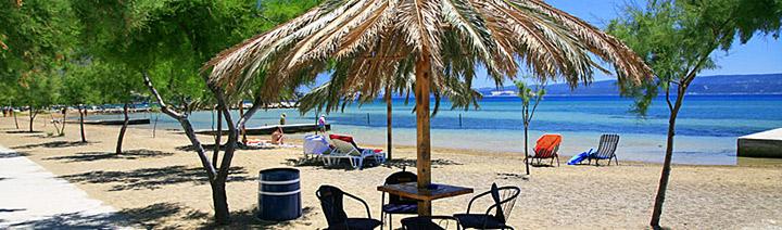 Pláž Omiš Duče