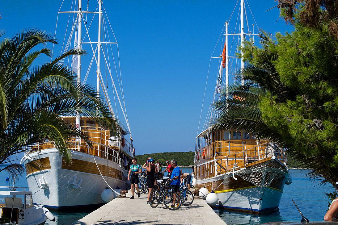 Cyklodovolená Chorvatsko