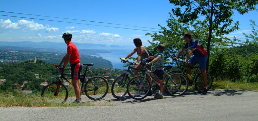 Dovolená na lodi a na kole v Chorvatsku