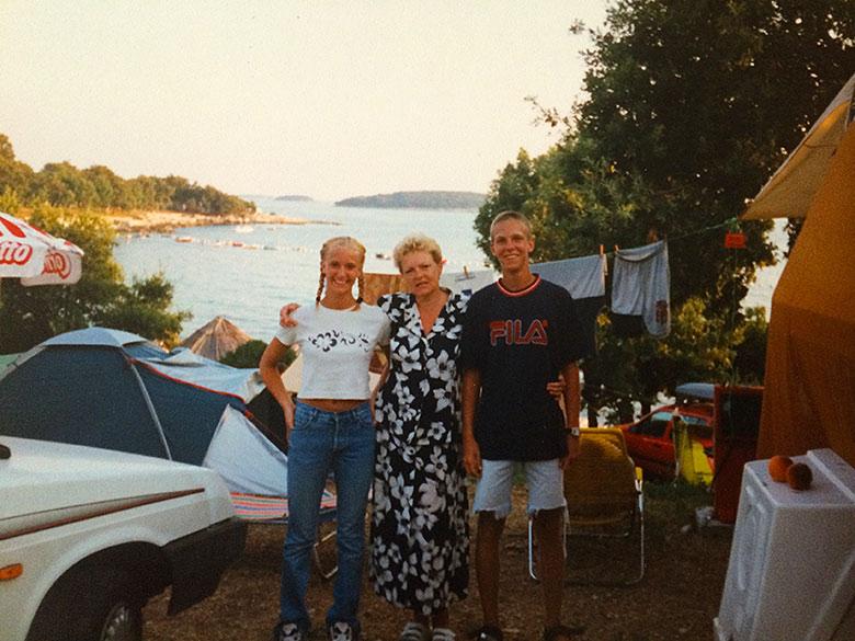 Dovolená Chorvatsko - r. 1995