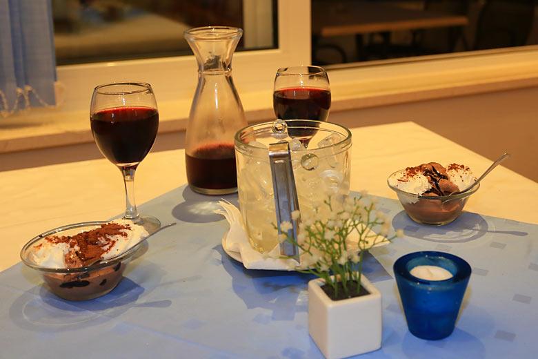 Zmrzlina a chorvatské víno