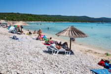 Písečná pláž Sakarun, Soline, Dugi Otok
