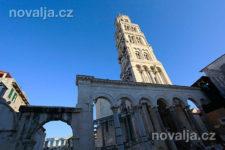 Split - Diokleciánův palác, Chorvatsko