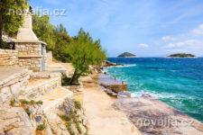 Karbuni, ostrov Korčula, Chorvatsko